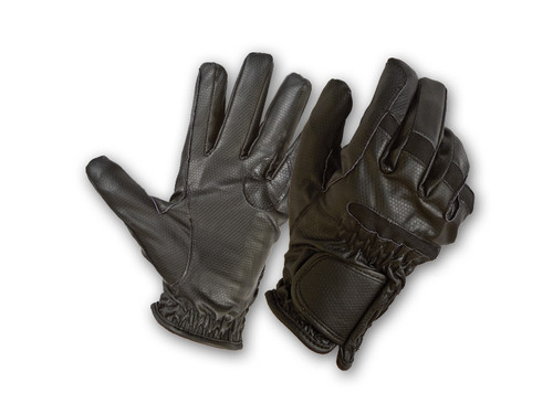 Synthetic Leather Tactical Gloves w/ Cut Resistant Spectra