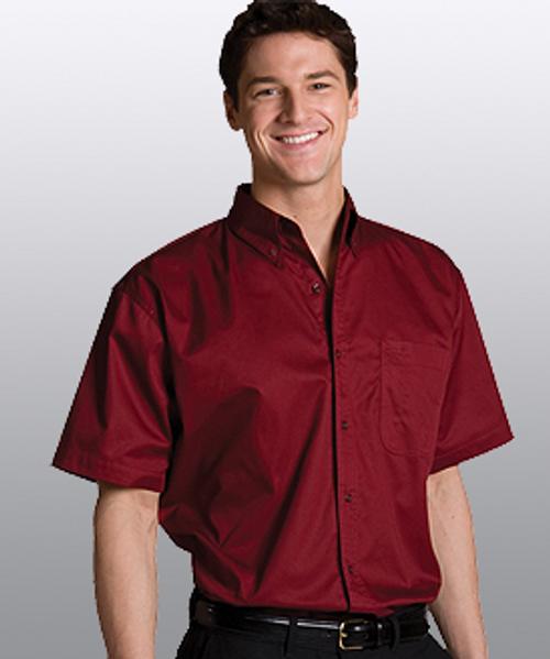 Cotton Plus Twill Short Sleeve Shirt