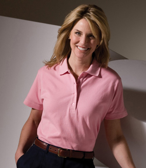Women's Short Sleeve Soft Touch Pique Polo