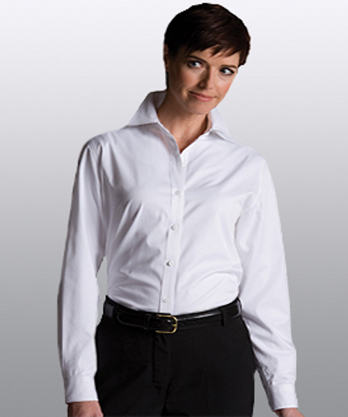 Cotton Plus Twill Long Sleeve Shirt