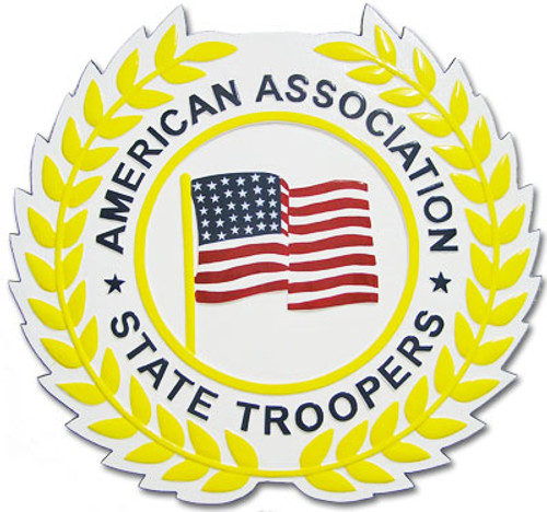 American Association of State Troopers Plaque