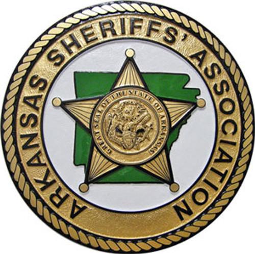 Arkansas Sheriffs' Association Gold Plaque