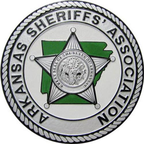 Arkansas Sheriffs' Association Silver Plaque