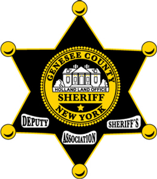 Genesee County Deputy Sheriff Association Plaque
