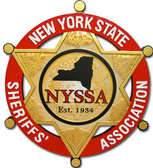 New York State Sheriffs' Association Plaque
