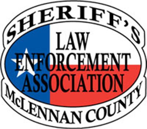 Sheriff's Law Enforcement Association of McLennan County Plaque