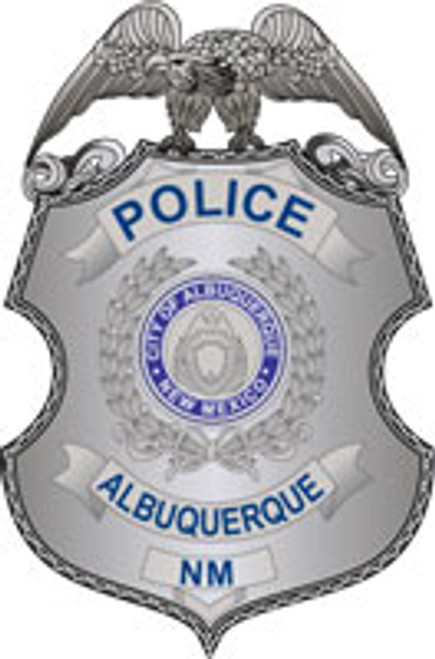 Albuquerque Police Badge Plaque