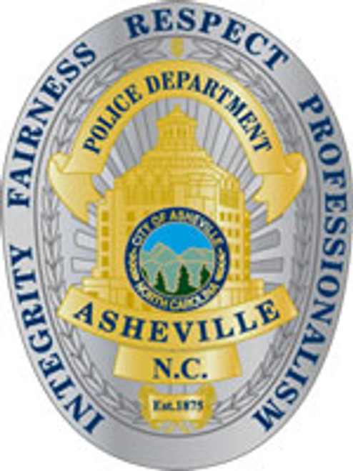 Asheville Police Principles Badge Plaque