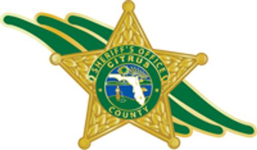 Citrus County Sheriff's Badge Plaque