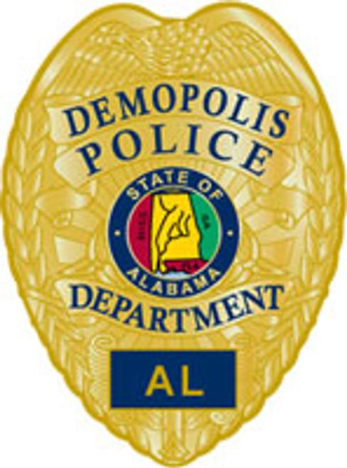 Demopolis Police Department Badge Plaque