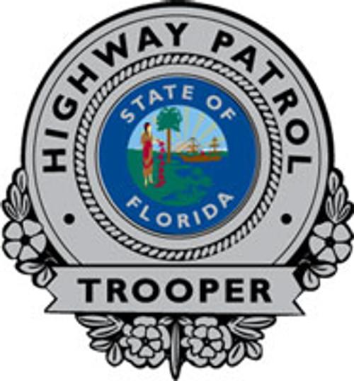 FHP Silver Badge Plaque