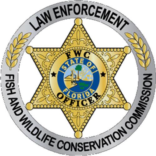 FL Fish & Wildlife Conservation Commission Plaque