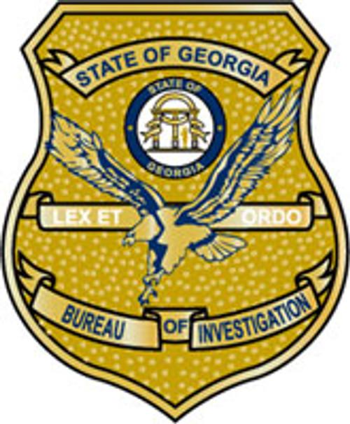 Georgia Bureau of Investigation Badge Plaque