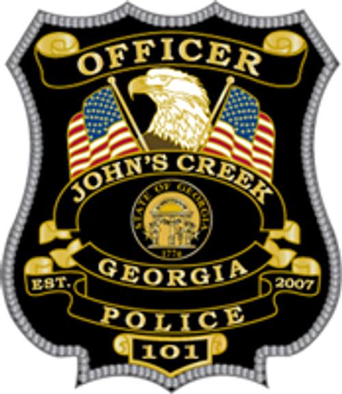 Johns Creek Badge Plaque