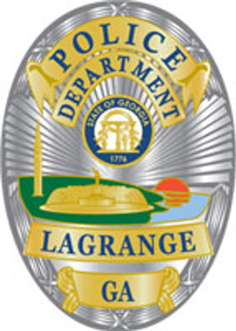 LaGrange Police Badge Plaque