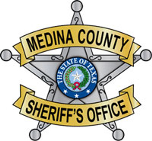 Medina County Sheriff's Badge Plaque