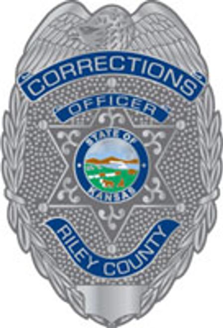 Riley County Corrections Plaque