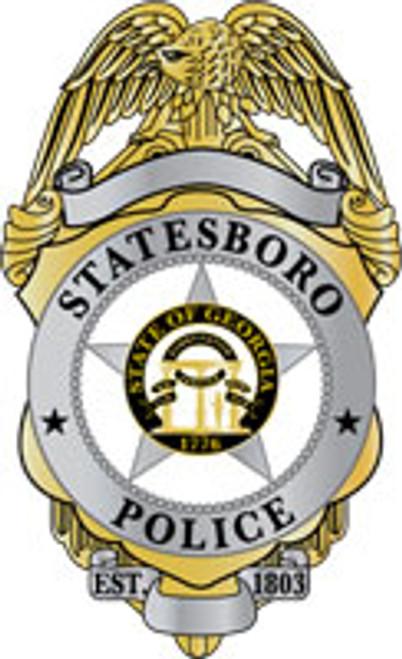 Statesboro Badge Plaque