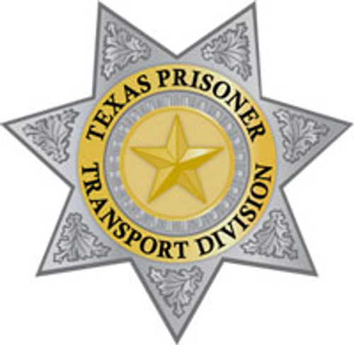 Texas Prisoner Transportation Division Plaque