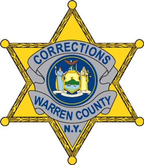 Warren County Corrections Badge Plaque