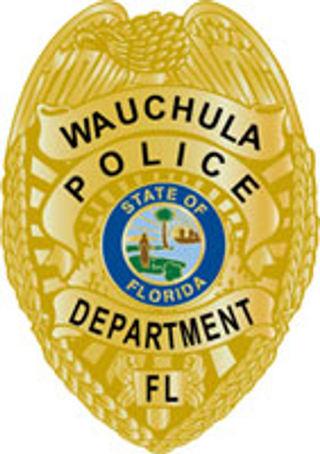 Wauchula Police Badge Plaque
