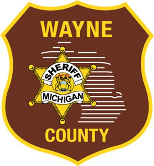 Wayne County Sheriff's Shield Plaque