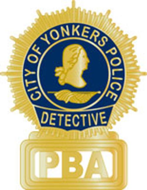 Yonkers PBA Detective Plaque