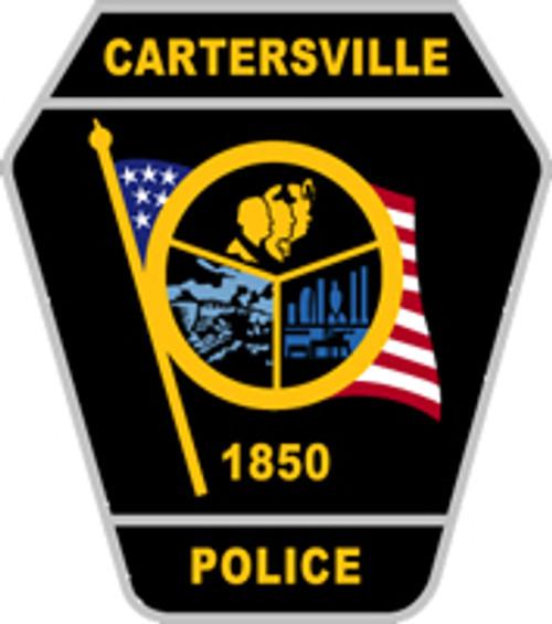 Cartersville Police Department Plaque