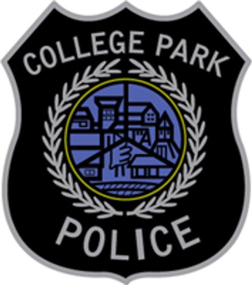 College Park Police Department Plaque