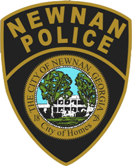 Newnan Police Department Plaque
