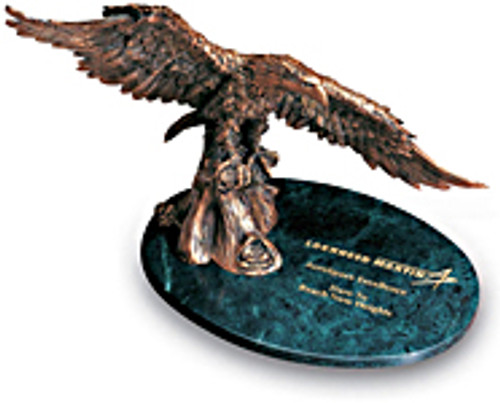Victory Eagles #107 - Green Marble - Large