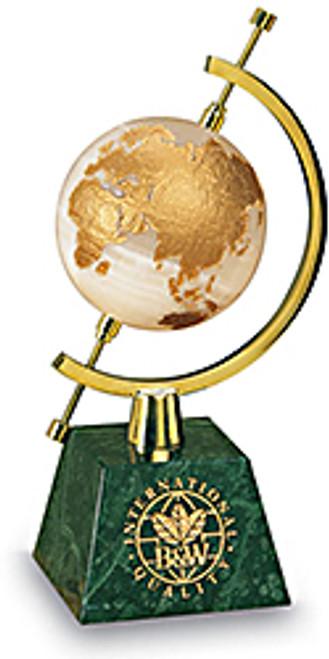 Celestial Globes #159 - Green Marble