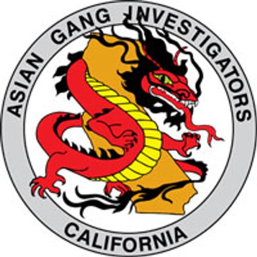 Asian Gang Investigators Plaque
