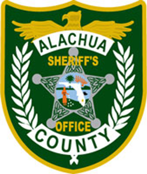 Alachua County Sheriff's Office Patch Plaque