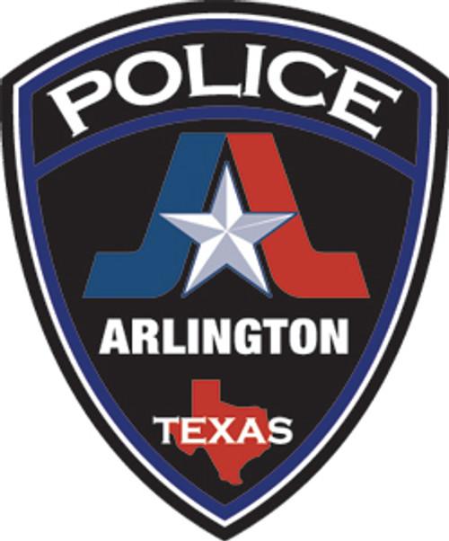 Arlington Texas Police Department - Patch 2 Plaque