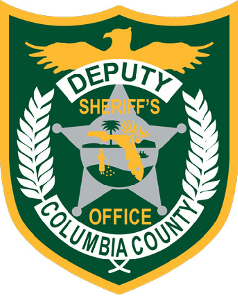 Columbia County Sheriff's Patch Plaque