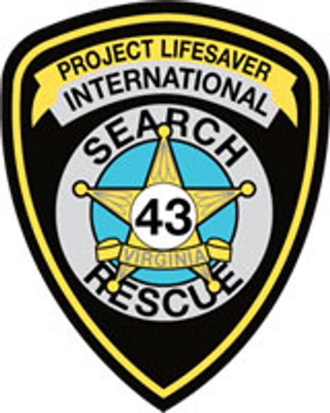 Project Lifesaver International Patch Plaque