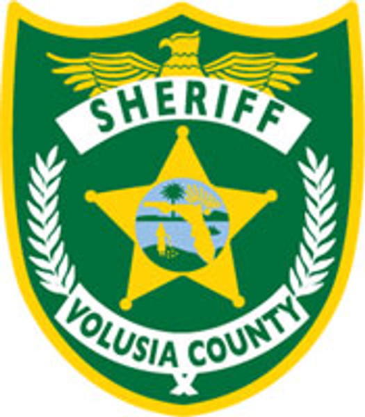 Volusia County Sheriff's Patch Plaque