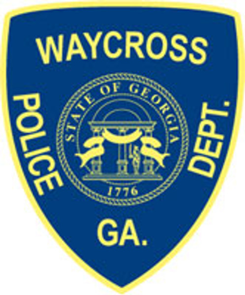 Waycross Police Department Patch Plaque