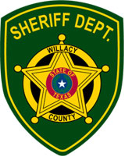 Willacy County Sheriff's Patch Plaque