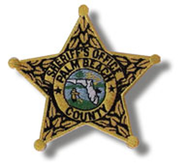 Palm Beach County Sheriff's Gold Star Patch