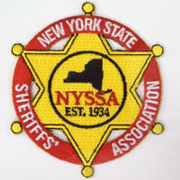 New York State Sheriffs' Association Patch