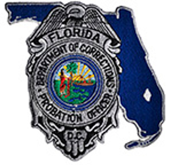 FLORIDA DEPARTMENT OF CORRECTIONS PROBATION OFFICER PATCH