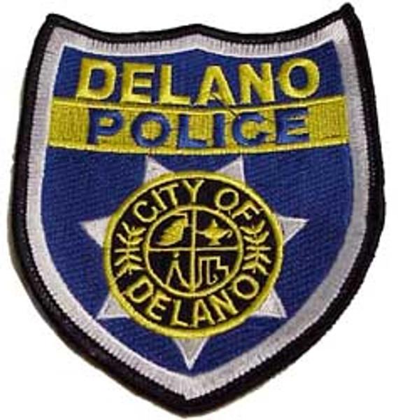 "Delano Police 4.5"" Patch"
