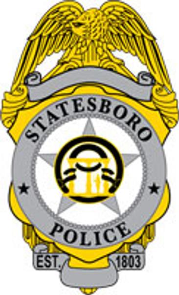 Statesboro Badge Patch