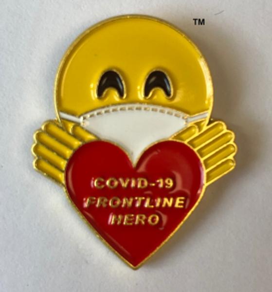 COVID-19 FRONTLINE HERO LAPEL PIN