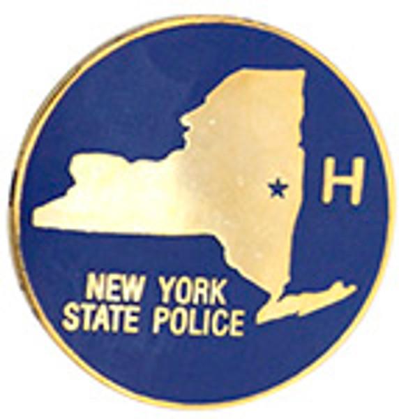 NEW YORK STATE POLICE Hudson Lapel Pin