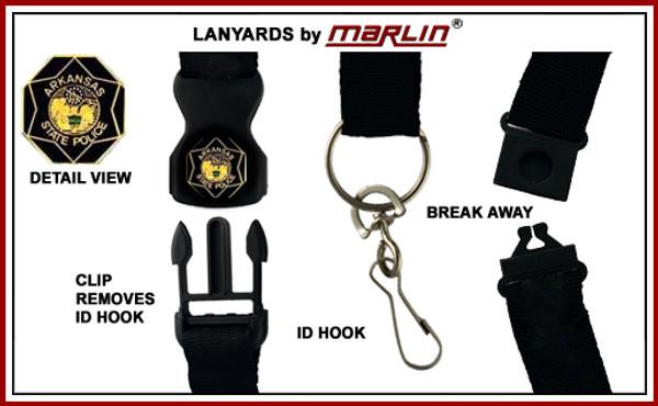 ARKANSAS State Police Lanyard