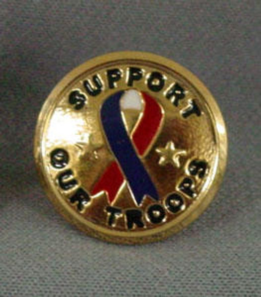 Support our Troops Lapel Pin collectible