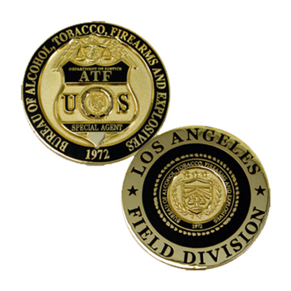 ATF Field Operations Dept. of Justice DOJ Coin